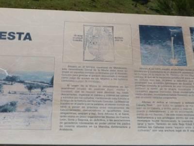 El pinar del Puerto de Navafría;bola del mundo madrid;la silla de felipe ii
